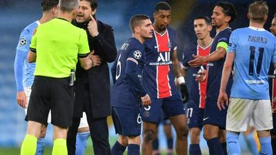 PSG left to chase Lille for Ligue 1 title after Champions League exit