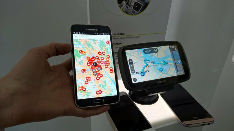Dane do nawigacji można wprowadzić poprzez aplikację w smartfonie. Funkcja wkrótce zostanie udostępniona użytkownikom nie tylko najnowszych GO ale także wybranych modeli z zeszłorocznej kolekcji