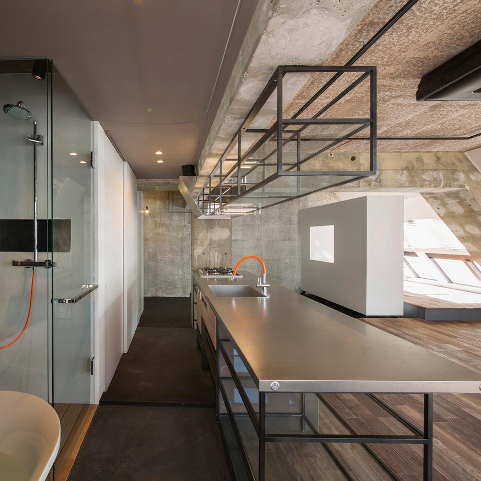 Loft w Tokio autorstwa G Studio Architects, Japonia
