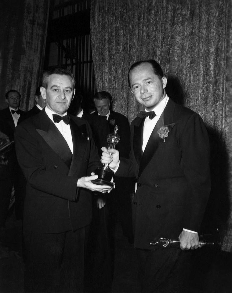 Billy Wilder - ceremonia w 1988 roku, Nagroda im. Irvinga Thalberga