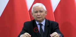 Kaczyński wystąpił ze znaczkiem Polski Walczącej. Stanowcza reakcja Powstańców