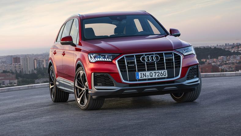Audi Q7 Po Zmianach Na Brak Opcji Nie Będzie Można Narzekać