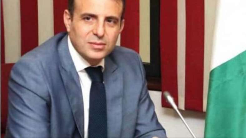 Lebanese Ambassador, Houssam Diab walked out on Nigerian lawmakers. (TheCable)
