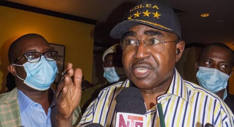 NDLEA chairman, Buba Marwa [NDLEA]
