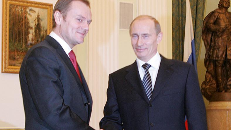 Tusk chwalony za wizytę w Maskwie