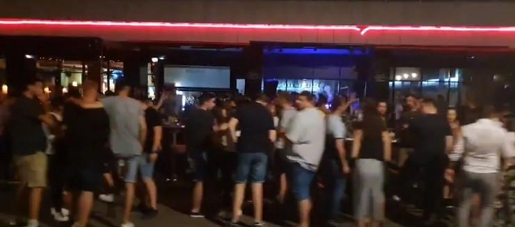 Hotel Jugoslavija korona parti