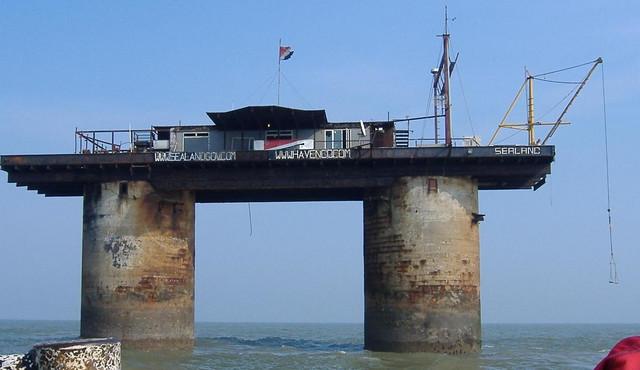 Kneževina Silend je morska platforma