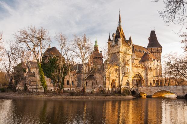 Zamek Vajdahunyad, Budapeszt