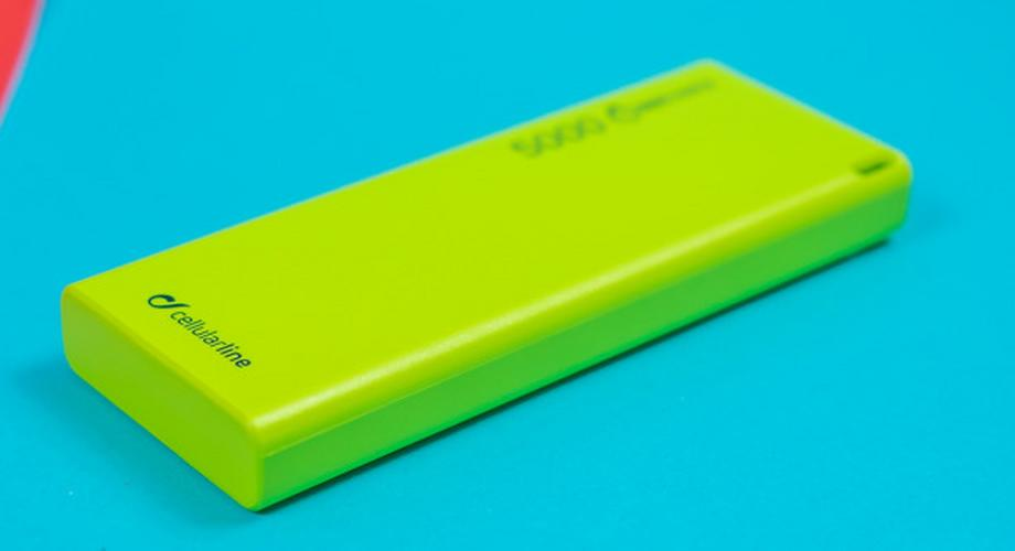 Powerbank Cellularline Freepower Slim 5000 im Test