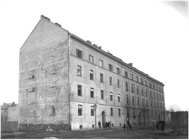 Budynek czynszowy w Krakowie przy ul. Słonecznej (1926 r.) / Źródło: NAC