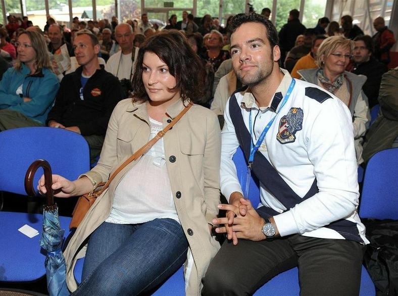 Conrado Moreno z żoną. Fot. Marcin Kokolus