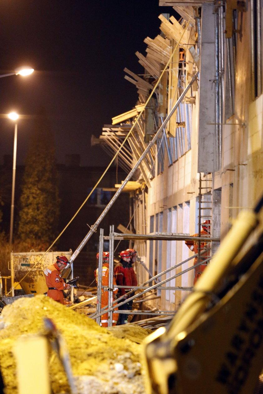 Katastrofa budowlana w Gliwicach