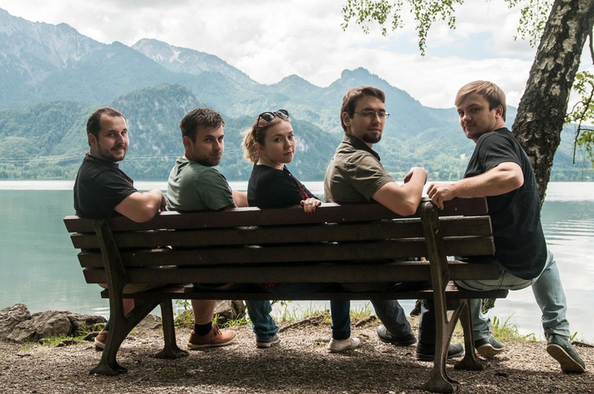 Zespół Scanway odpowiedzialny za projekt wiertarki: (od lewej) Jędrzej Kowalewski, Mikołaj Podgórski, Dorota Budzyń, Maksymilian Żurman, Kamil Sieciński