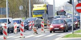 Lublin sparaliżowany przez remont skrzyżowania
