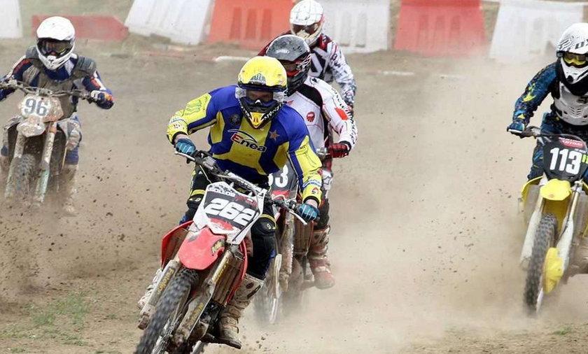 Gollob trzeci w... motocrossie