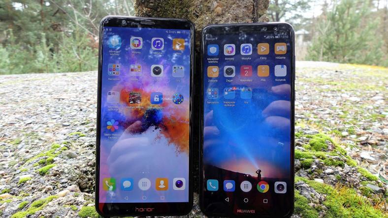 Honor 7X kontra Huawei Mate 10 Lite