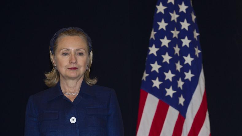 Hillary Clinton zaatakowana butem
