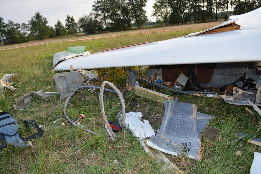 19-letni pilot ranny po wypadku szybowca w Fabianowie