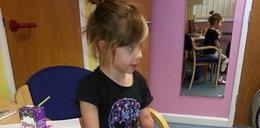 Dziewczynka straciła ręce i nogi przez chorobę