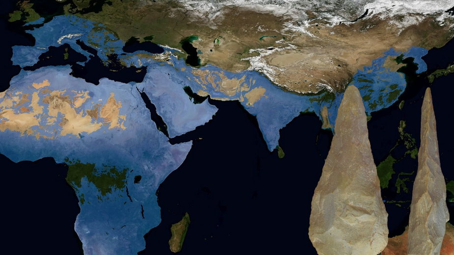 Mapa występowania kultury aszelskiej