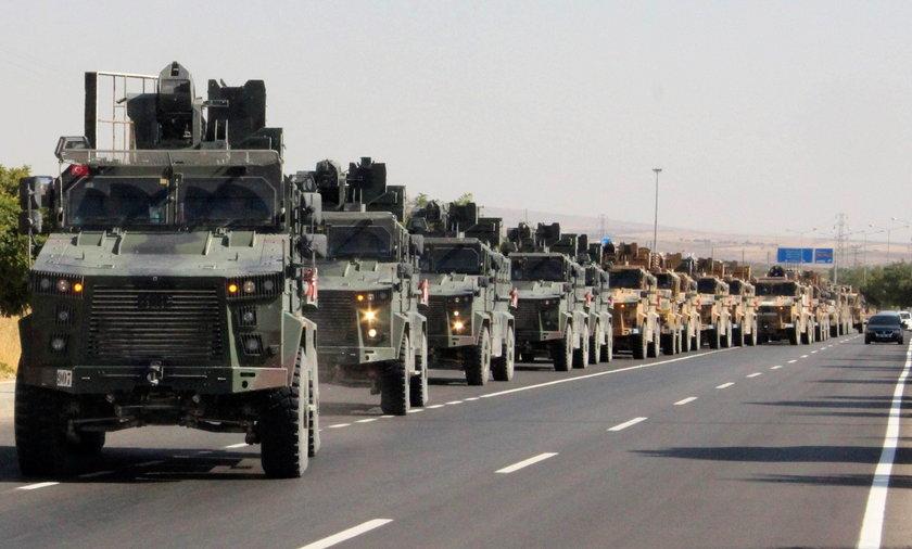 Turcja będzie kontynuować ofensywę w Syrii