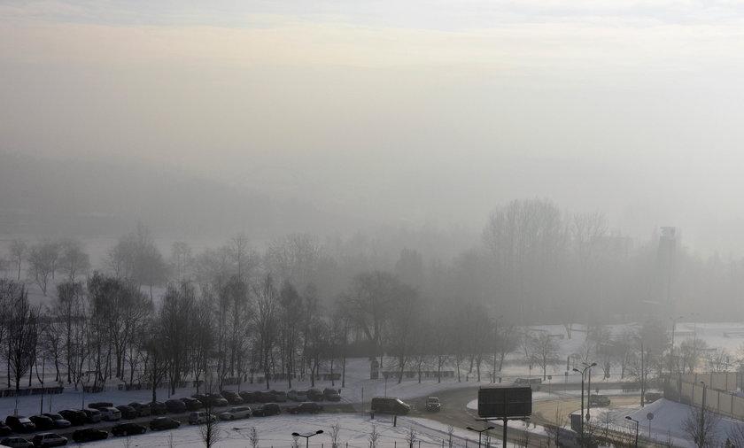 Smog nad Śląskiem