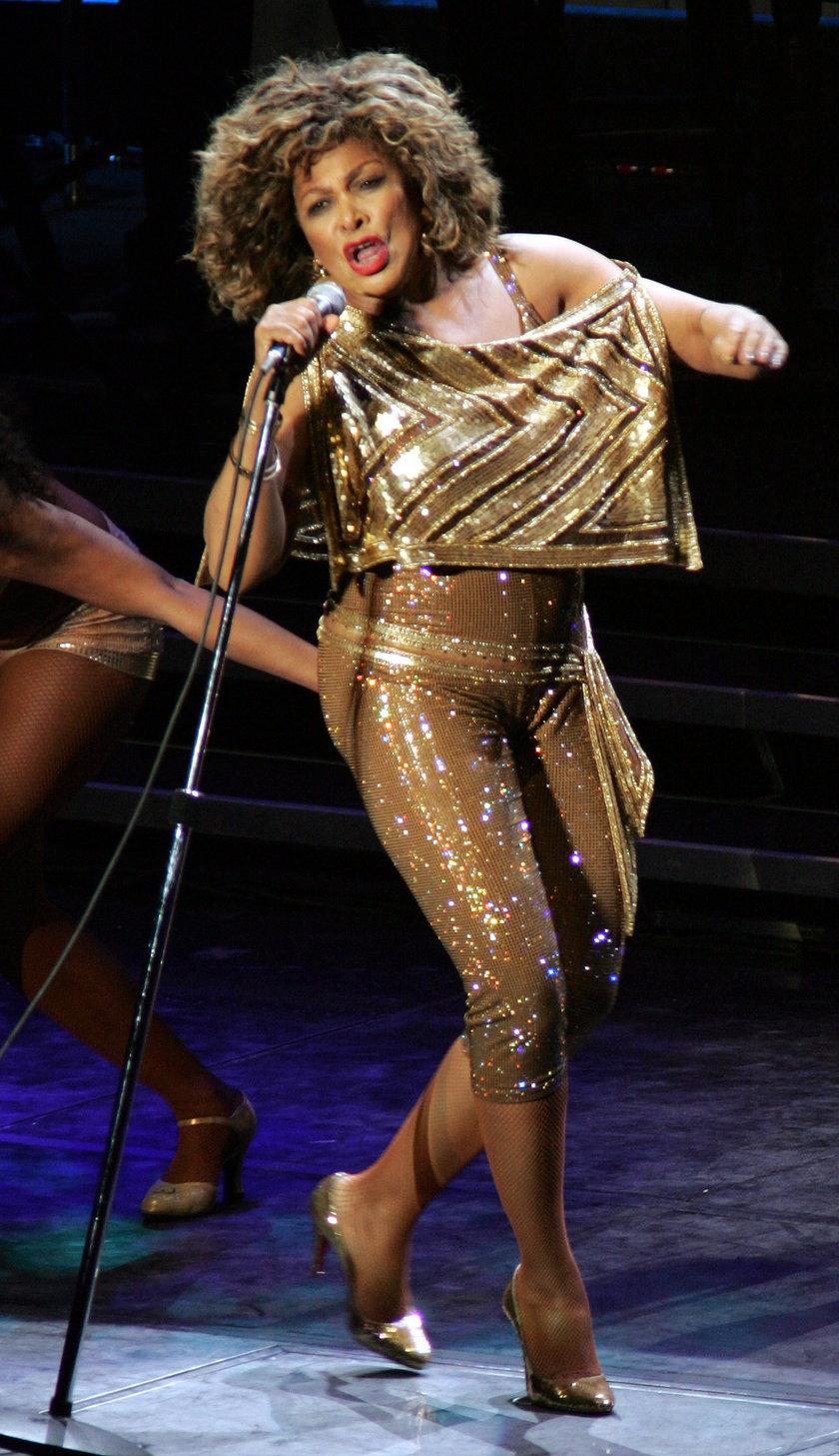 Tina Turner na scenie