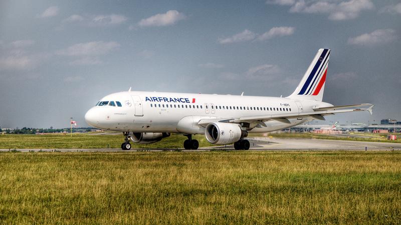 Samolot AirFrance