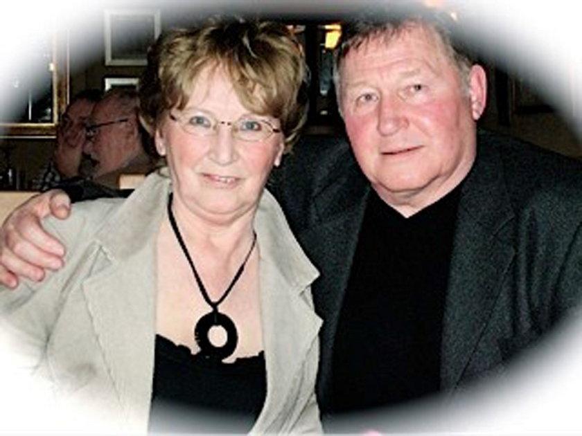 76-letnie Trixie Gough z mężem Brianem