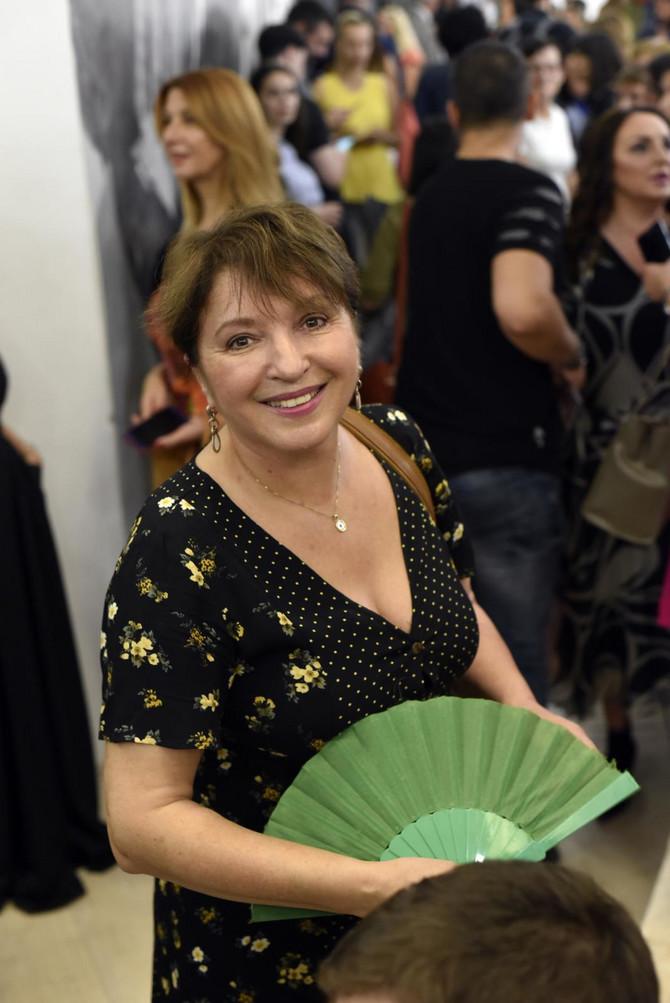 Mirjana Karanović prošlog septembra u Beogradu