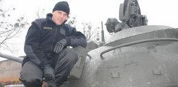 Poznański czołg z autografem Spielberga