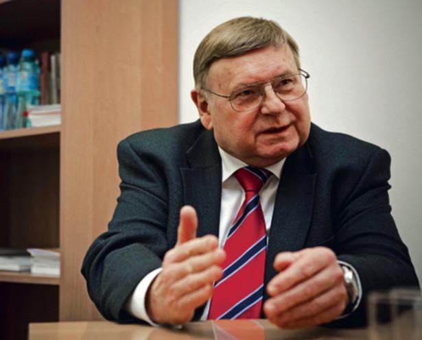 Profesor Jerzy Woźnicki, przewodniczący Rady Głównej Nauki i Szkolnictwa Wyższego
