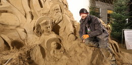 W Gdańsku można podziwiać szopkę z piasku