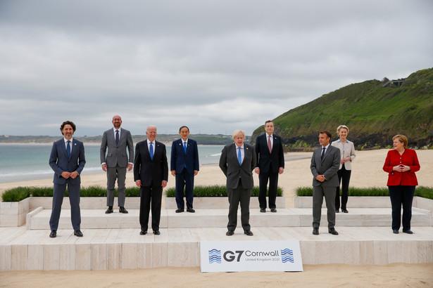Liderzy krajów G7, Carbis Bay, Kornwalia, Wielka Brytania. 12.06.2021