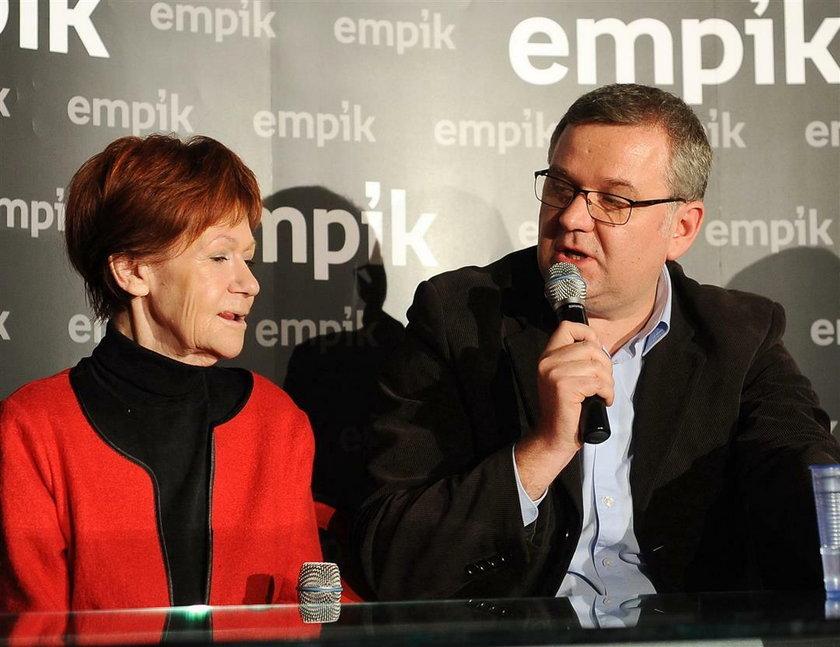 Maria Czubaszek i Artur Andrus