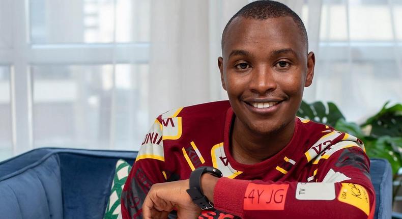 Kikuyu musician Samuel Muchoki aka Samidoh