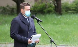 Strajk przedsiębiorców. Trzaskowski: Nie akceptuję sposobu, w jaki potraktowano protestujących