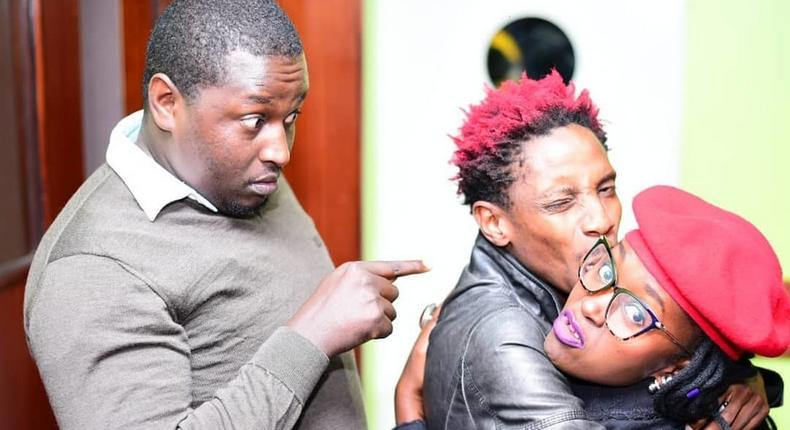 Terence Creative with Eric Omondi and Anne Kasme. Popular Instagram entertainer reveals how he grew Instagram followers to 70k in 4 weeks