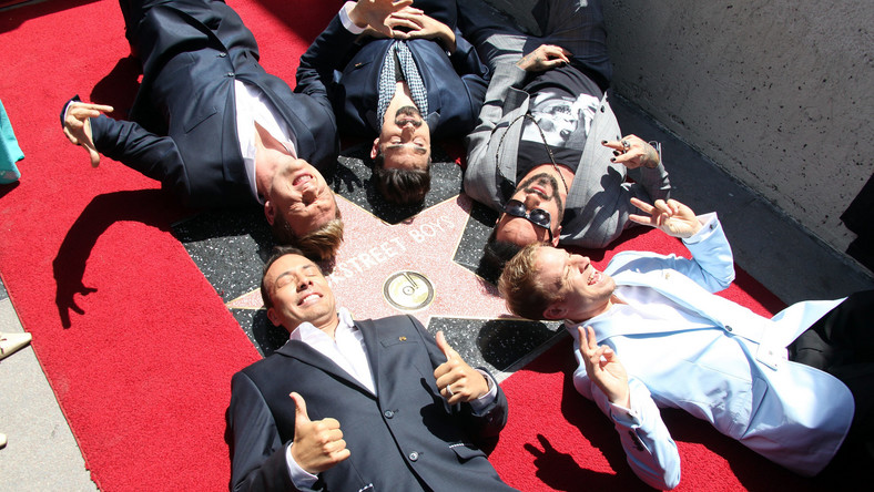Backstreet Boys na Hollywood Walk of Fame