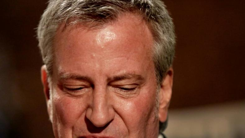 Mayor Bill De Blasio has been testing the political waters for months ahead of his expected announcement that he will run for US president