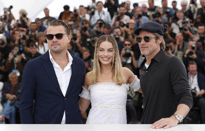 Leonardo Dikaprio, Margo Robi i Bred Pit danas u Kanu