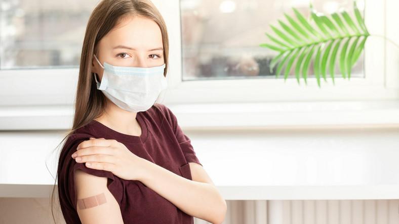Zaszczepiona dziewczynka