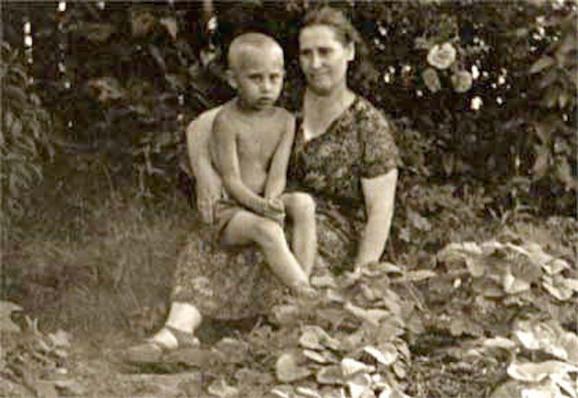 Vladimir Putin kao dete