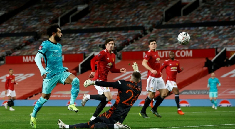 Man Utd get better of Liverpool in FA Cup five-goal thriller