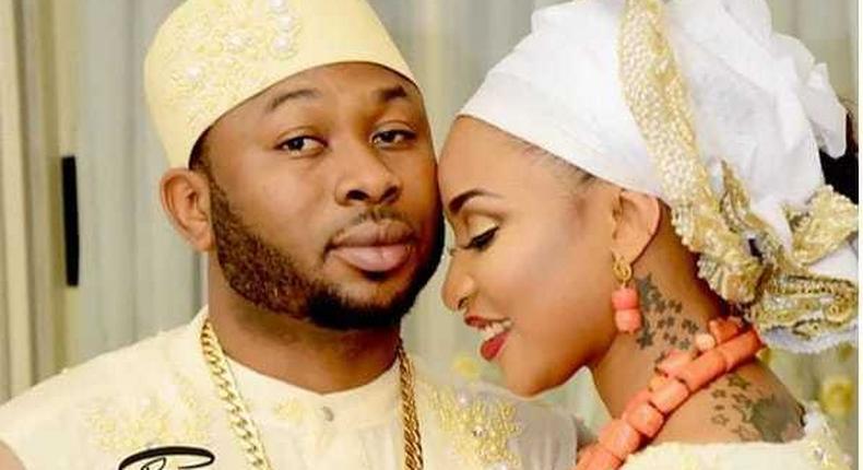 Tonto Dikeh married Oladunni Churchill in 2015