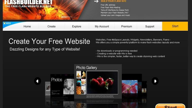 build your own site free