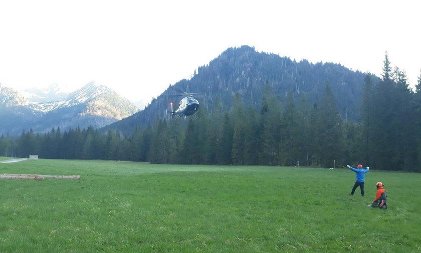 Tragiczny wypadek w Tatrach. Nie żyje 56-latek