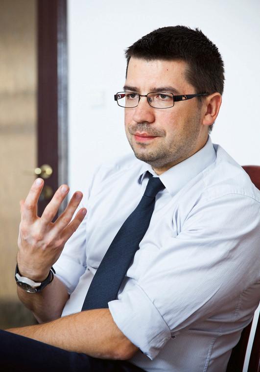 Mariusz Haładyj, podsekretarz stanu w Ministerstwie Przedsiębiorczości i Technologii