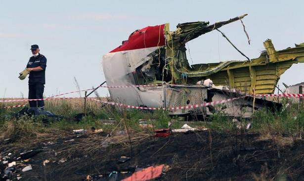 Malezyjski boeing został zestrzelony nad Ukrainą 17 lipca EPA/IGOR KOVALENKO