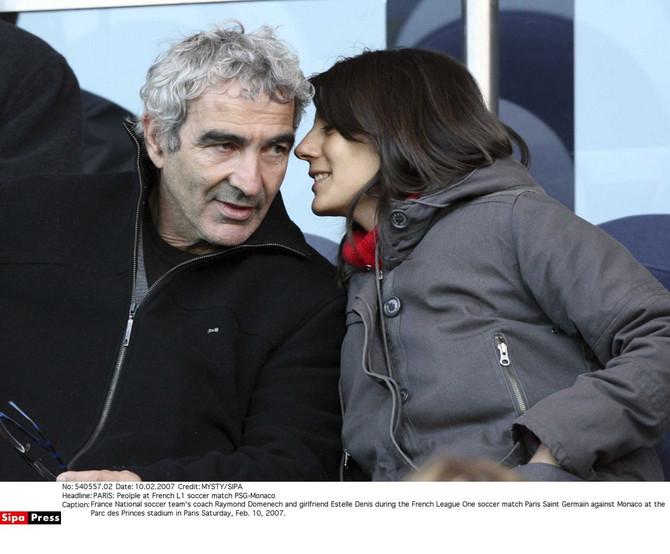 Remon Domenek sa suprugom Estel Deni